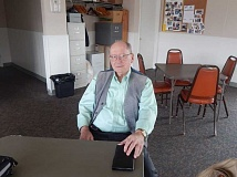 Photo Credit: BARBARA SHERMAN - Summerfield resident Warren Grabinski is in his sixth year of helping people prepare their tax returns through the IRS/AARP Foundation Tax-Aide Program.