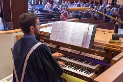Photo Credit: SUBMITTED PHOTO - Lake Grove Presbyterian Church organist Jeff Wood will present a concert March 1 at the church.