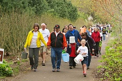 SUBMITTED PHOTO - More than 300 people of all ages participated in last years Walk4Water7, which raised $61,000 for WaterAfrica.