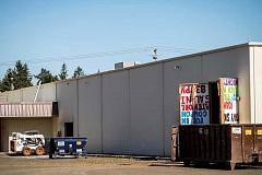 HILLSBORO TRIBUNE PHOTO: CHASE ALLGOOD - The building that housed a roller skating business known as Skate World for 33 years is being transformed into a storage facility. The new business, Northwest Self Storage, plans to open in June.