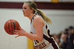 THE OUTLOOK: DAVID BALL - Damascus Christians Izzy Crowley hit a pair of buckets to put the Eagles up to stay late in the first quarter.