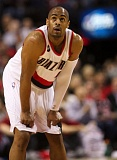 TRIBUNE PHOTO: JAIME VALDEZ - Arron Afflalo, acquired a couple of weeks ago at the NBA trade deadline, could wind up filling much of the void left on the Trail Blazers after starting guard Wesley Matthews went down Thursday night with a season-ending Achilles tendon injury.