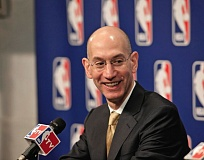 COURTESY OF NBA - Making changes in the NBA schedule is one of the major topics new commissioner Adam Silver is looking at as he moves into his second year at the top.