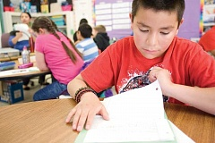 KEVIN SPERL - Ochoco Elementary fourth-grader Saul Nunez is enrolled in the district's Dual Language Program and will be moving to Barnes Butte Elementary in the fall.