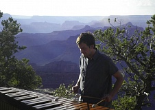 CONTRIBUTED PHOTO - Michael Charles Smith's music has been used in commercials, films and documentaries. He says he took up marimba because it combines his love for percussion and piano.