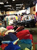 SUBMITTED PHOTO - Lakewood Center Associates will hold its annual One More Time Around Clothing sale April 9, 10 and 11 at Lakewood Center for the Arts. Donations will be accepted April 7 and 8.