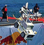 COURTESY OF RED BULL - Who knows what people will be trying to fly when Red Bull Flugtag returns to Portland, Aug. 1. The popular event took place in Portland in 2004 and 2008.