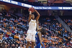 COURTESY OF UNIVERSITY OF TENNESSEE - Sophomore Jordan Reynolds, the starting point guard for the Tennessee Volunteers and a Portland native, goes up for a jump shot. Reynolds and the Vols are ranked sixth in the nation and are a No. 2 seed entering the NCAA womens basketball tournament.