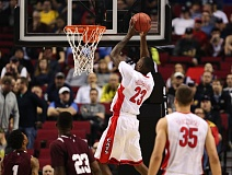 COURTESY OF DAVID BLAIR - Rondae Hollis-Jefferson goes for two of his game-high 23 points and leads the Arizona Wildcats to a 93-72 victory Thursday against Texas Southern at Moda Center.