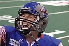 COURTESY OF PORTLAND THUNDER - Kyle Rowley returns at quarterback for the Arena Football League Portland Thunder, who open their second season at Moda Center on Friday night against the Los Angeles KISS.