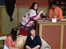 COURTESY PHOTO - Sandra Conlon as Girl (front), Robin Michaels as Millie (back), and Ilana Watson as April and Les Ico as Bill bring HARTs new play to life.