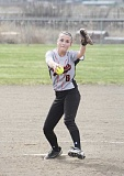 JEFF WILSON/THE PIONEER - After missing last season with an injury, the Bulldogs' Josi Harrison pitched Culver to a seson-opening win over La Pine last week.