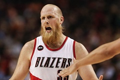 COURTESY OF DAVID BLAIR  - Chris Kaman is described as a loose cannon who says what he thinks with little, if any, hesitation, and hes served as an efficient backup center to Robin Lopez for the Trail Blazers this season.