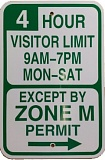COURTESY OF PBOT - New parking signs are being installed this week in Northwest Portland, marking an expanded Zone M parking area.