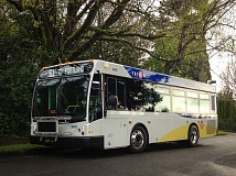 COURTESY TRIMET - One of the new TriMet buses that entered service on March 24.
