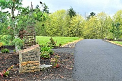 GARY ALLEN --- - Symbolic -- The 12 steps of recovery from addiction are represented in a visual form along a pathway constructed at Hazelden's Springbrook campus. Each of the 12 stations contains a stone inscribed with the step.