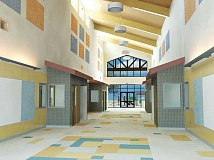 BBT ARCHITECTS ILLUSTRATION - The new addition to the Culver Elementary School will feature lofty ceilings and large windows as in this illustration by BBT Architects. The addition will house third-, fourth- and fifth-grade classrooms, and is expected to be move-in ready in December.