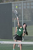 SETH GORDON - West Linn's Ellen Rowan moves up to the No. 1 singles spot for the Lions this year. All four of West Linn's singles players are either freshmen or sophomores.