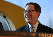 COURTESY OF UNIVERSITY OF OREGON - Michael H. Schill, the new University of Oregon president, said Tuesday he was excited about coming to Oregon and leading the university. He is a University of Chicago dean and law professor.