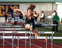 DAN BROOD - MULTI-TALENTED -- Sophomore Sareena Patzke should be a key competitor for the Tigard High School girls track and field team in the hurdles and the jumps.