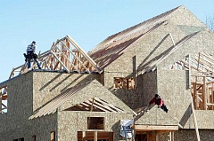 PAMPLIN MEDIA GROUP - Slow rise - Single-family residential building permits are on par with trends in recent years and could see a slight increase, with 16 permits issued for new houses in Newberg nearly a quarter into 2015 and many months remaining in the busy summer building season.