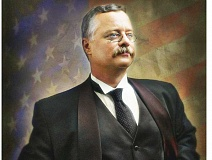 SUBMITTED - In character - While he looks, talks and keeps a schedule like Theodore Roosevelt, this is not the man himself but rather Joe Wiegand, a Roosevelt impersonator. Wiegand portrays the 26th President of the United States to educate and entertain audiences across the country.