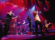 COURTESY OF WINDBORNE MUSIC - Randy Jackson sings in front of of many orchestra/band ensembles, and hell join a band and the Oregon Symphony for The Music of Led Zeppelin, April 26 at Arlene Schnitzer Concert Hall.