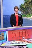 COURTESY WHEEL OF FORTUNE - Stacy Singledecker will fulfill a life dream May 5 when her taped 'Wheel of Fortune' segment airs at 7:30 p.m. on KATU Channel 2. She can't say how she did so fans will have to tune in to find out.