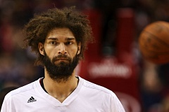 TRIBUNE FILE PHOTO: DAVID BLAIR - Blazers center Robin Lopez improved his performance from Game 1 to Game 2 of the Portland-Memphis playoff series, and the teams inside defense has been solid. Now the offense needs to come around in Game 3 on Saturday.