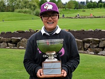 COURTESY OF OGA - A Ram Choi, a senior at Portland State, won the OGA Tournament of Champions by one shot over Gigi Stoll at Langdon Farms.