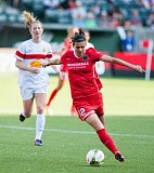 TRIBUNE PHOTO: DIEGO G. DIAZ - Christine Sinclair of the Portland Thorns will be back on the Canadian national team for the Women's World Cup this year.