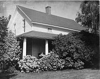 SUBMITTED PHOTO - The two-story home at 3811 Carman Drive was built in 1857 by pioneer couple Waters and Lucretia Carman.