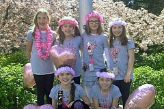 SUBMITTED PHOTO - The Pink Piggies are seeking the public's help to fund their trip to the Destination Imagination Global Finals.