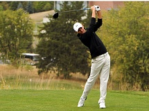 COURTESY OF ERIC EVANS - Aaron Wise of Oregon placed second in the Pac-12 men's golf championships at Pullman, Wash.