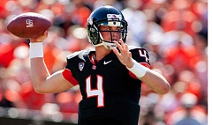 Sean Mannion is the newest quarterback for the St. Louis Rams.