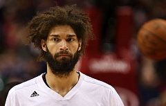 TRIBUNE FILE PHOTO: DAVID BLAIR - Decisions have to be made about and by various members of the 2014-15 Trail Blazers, including center Robin Lopez.
