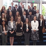 Canby's FBLA contingent at the state competition in Portland.