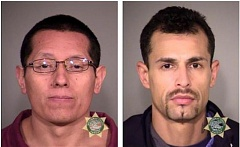 COURTESY OF MCSO - Luis Gonzalez and Ramone Gonzalez (no relation) will be arraigned for a 2001 shooting death in Southeast Portland.