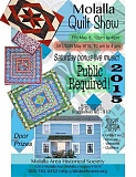 MAHS - Molalla Quilt Show opens Friday