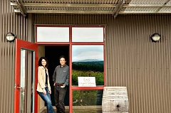 SUBMITTED PHOTO: RAPTOR RIDGE - Annie and Scott Shull, founders of Raptor Ridge, invite all to visit their tasting room in Newberg. Raptor Ridge specializes in pinot noir, but also produces other wines.