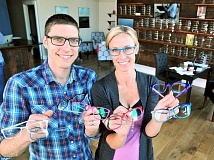 GARY ALLEN - In business - Owen Eye Care has opened its doors on the corner of First and College streets in downtown Newberg. Michael and Sarah Owen are both graduates of George Fox University and have lived in town for more than 15 years.