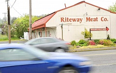 GARY ALLEN - Riteway Meat Co. owners Sharon and Jeff Payne appeared at hearing last week and said the business's loss of power was responsible for it closing.