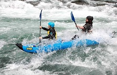 ESTACADA NEWS: ISABEL GAUTSCHI - The Upper Clackamas Whitewater Festival draws adrenaline junkies to test their skill against the rapids. The Festival is now in its 32nd year.