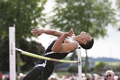 PHIL HAWKINS - Woodburn junior Noah Te became the first Bulldog athlete to qualify for the 2015 OSAA 5A State Championships on May 22-23 after finishing second in the high jump with a height of 6-01.