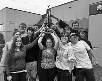 SUBMITTED PHOTOS - Canby High School's various bands have been more than busy this year with trips, performances and winning awards.