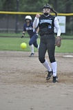 MATTHEW SHERMAN - Lakeridge's Kailey Krueger tossed a shutout in the Pacers' 10-0 victory over Lake Oswego last week, their third league win of the year .
