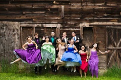SUBMITTED PHOTO - WLHS students had their prom on May 16.
