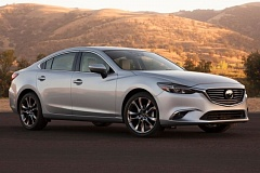 MAZDA NORTH AMERICAN OPERATIONS - The 2016 Mazda6 is sleeker and sexier than most other midsize sedans of any price.