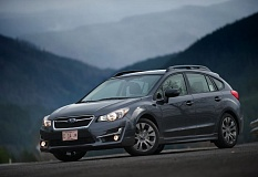 PORTLAND TRIBUNE JOHN M. VINCENT - The 2015 Subaru Impreza gains a sharper front end and updated safety technology. It's available in roomy 5-door hatchback and 4-door sedan models. All Imprezas come with Subaru's confident symmetrical all-wheel drive system.