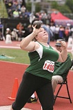 PHIL HAWKINS - North Marion senior Angela Sprecher obliterated her PR in the shot put with a fourth-place finish of 38-05.75